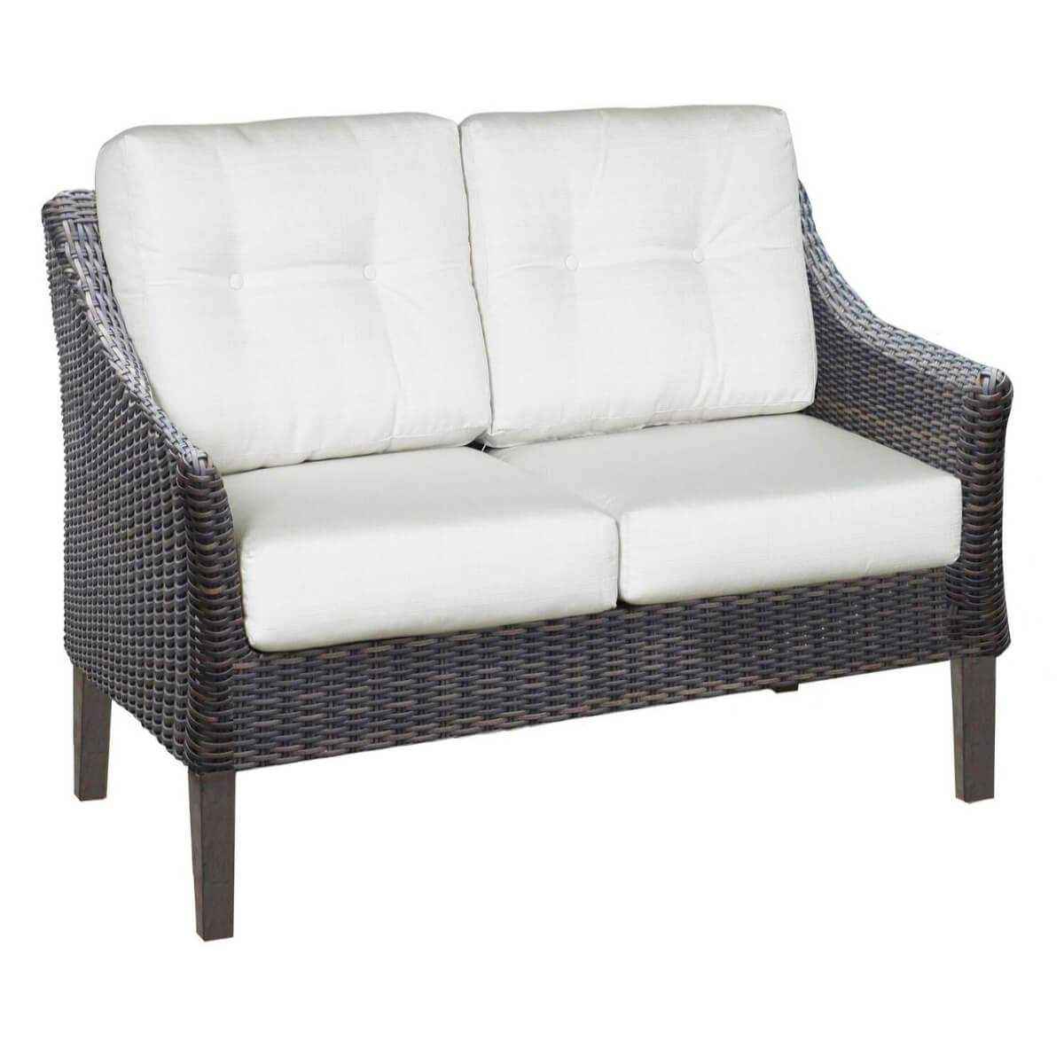 Astounding San Marino Outdoor Patio Furniture Loveseat Machost Co Dining Chair Design Ideas Machostcouk