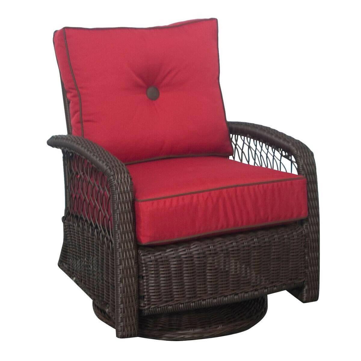Beacon Outdoor Patio Furniture Swivel Glider   PatioHQ