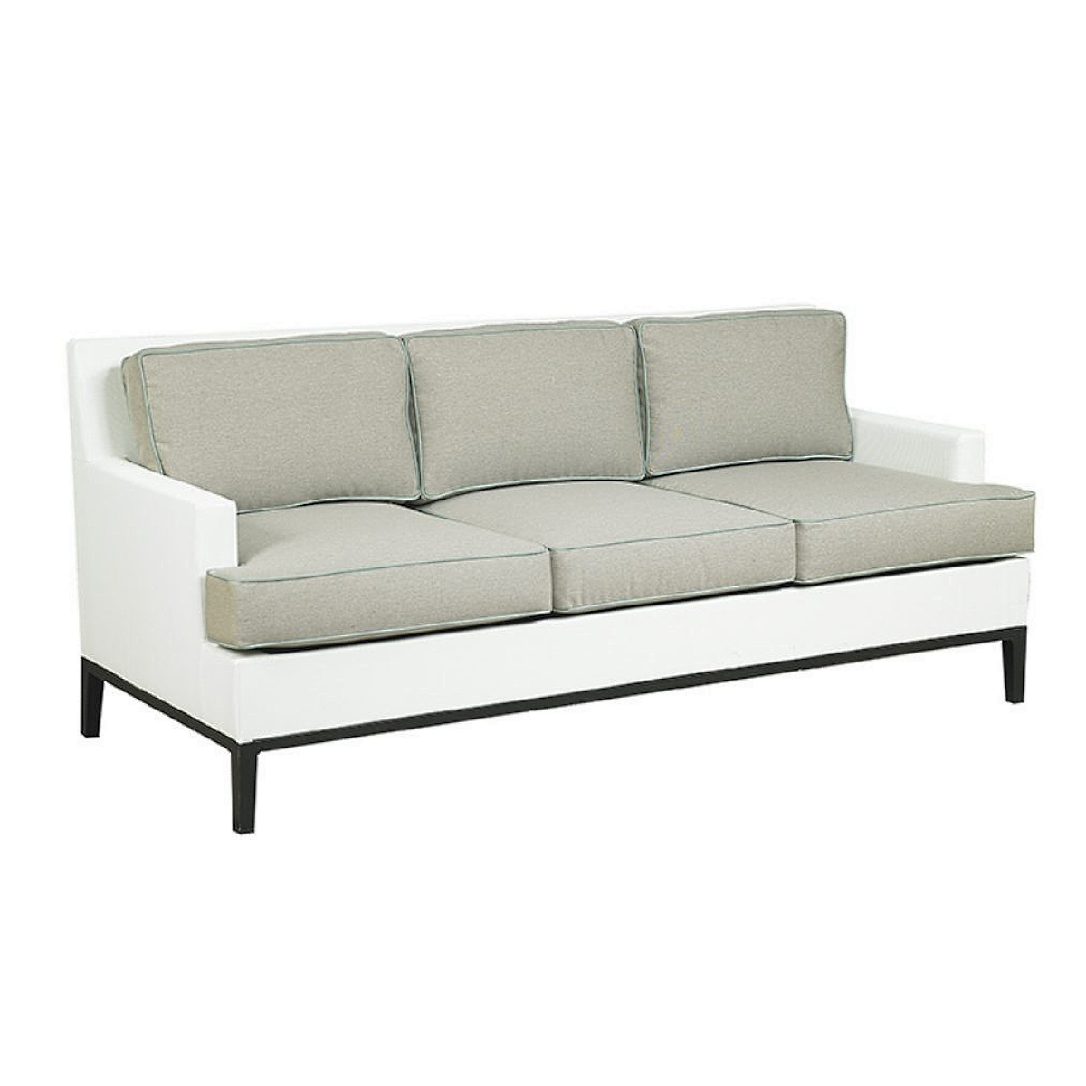 Libby Ridgewood Outdoor Patio Furniture 3 Seat Sofa
