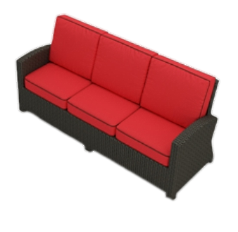 Seat And Back Deep Seating Replacement Cushions