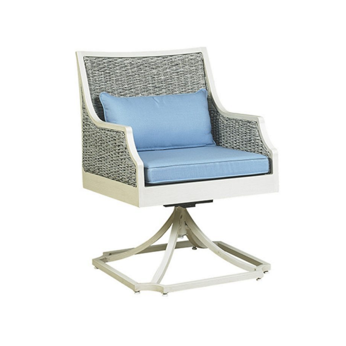 Swell Libby Mooring Outdoor Patio Swivel Dining Chair Ncnpc Chair Design For Home Ncnpcorg