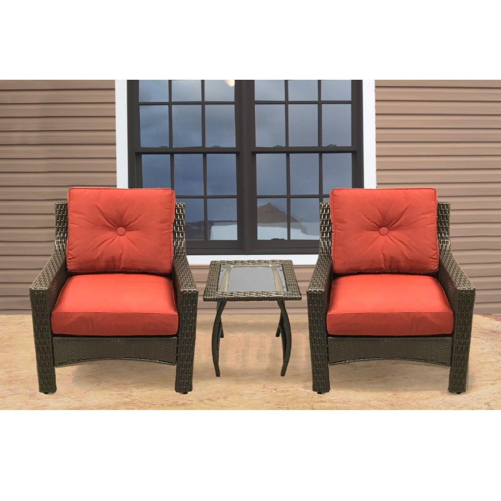 Hoover Outdoor Patio Furniture 3pc