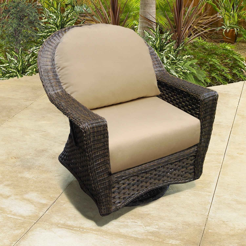 Georgetown Outdoor Patio Furniture Swivel Glider Patiohq
