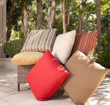 Shop our entire selection of outdoor/indoor throw pillows.