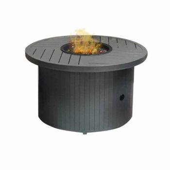 Round Fire Table Gunmetal 1024x1024