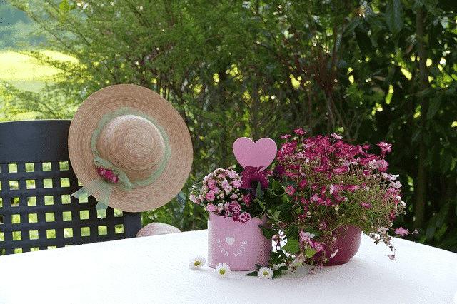 still life flower arrangement