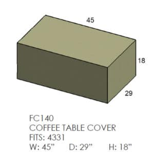 Coffee Table Furniture Cover